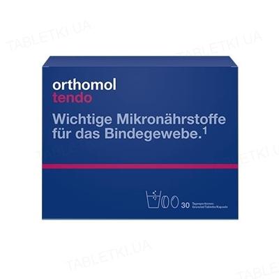Ортомол Tendo гранулы + капсулы + таблетки, курс 30 дней