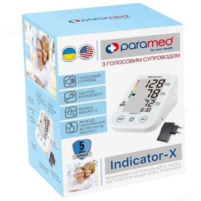Тонометр Paramed Indicator-X автоматический с голосовым сопровождением