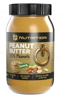 Арахисовое масло Sante Go On! Peanut butter creamy 100%, стекло 900 г
