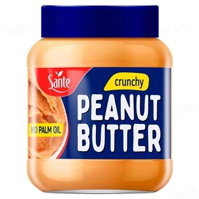 Арахисовое масло Sante Go On! Peanut butter crunchy, стекло 350 г