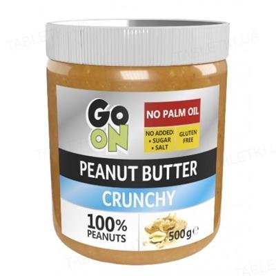 Арахисовое масло Sante Go On! Peanut butter crunchy, стекло 500 г