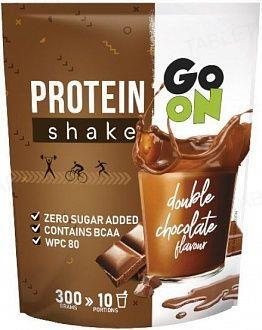 Сывороточный протеин Sante Go On! Protein Shake Double chocolate, 300 г