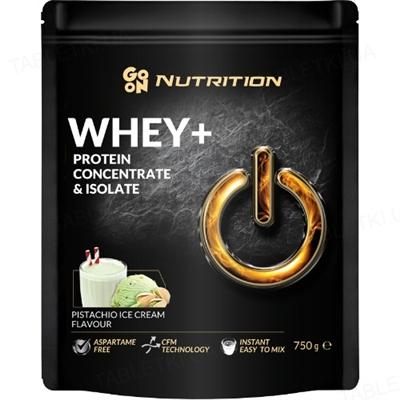 Протеин GO ON Nutrition Whey WPC+ISO Pistachio Ice Cream, 750 г
