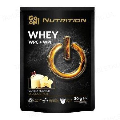 Протеин GO ON Nutrition Whey Vanilia, 30 г