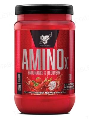 Аминокислота BSN Amino X Strawberry Dragonfruit, 435 г