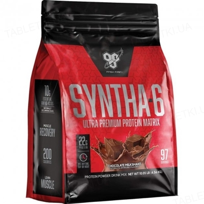 Протеин BSN Syntha-6 Шоколад, 4,54 кг