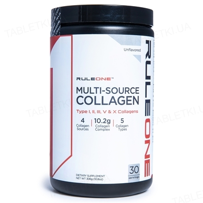 Комплекс для суставов R1 (Rule One) Multi-Source Collagen, 306 г