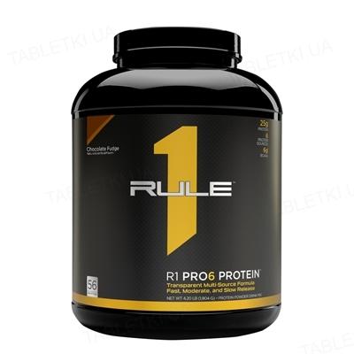 Протеин R1 (Rule One) Pro 6 Protein Шоколад, 1905 г