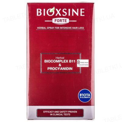 Спрей для волос Bioxsine Forte против выпадения, растительный,  60 мл