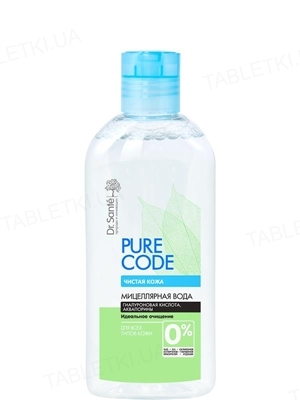 Мицеллярная вода Dr.Sante Pure Cоde, для всех типов кожи, 200 мл