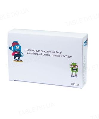 Пластырь бактерицидный Teta на полимерной основе 1,9 см х 7,2 см, 1 штука