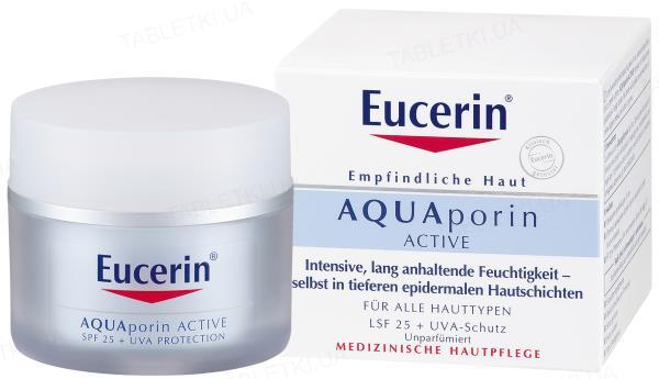 Крем Eucerin AquaPorin Active интенсивное увлажнение, для всех типов кожи, SPF25, 50 мл