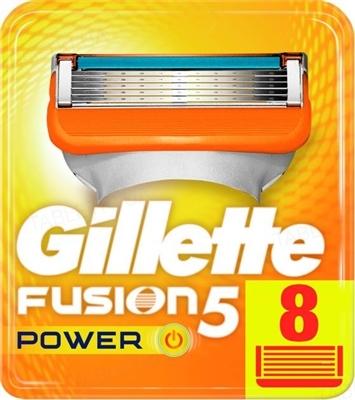 Картриджи сменные для бритья Gillette Fusion5 Power, 8 штук