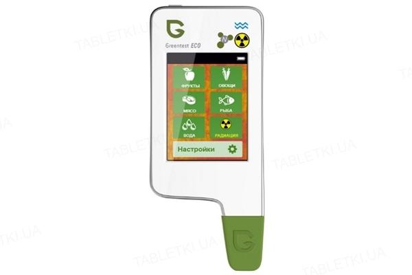 Дозиметр, нитрат-тестер и измеритель жесткости воды GreenTest ECO 5 White