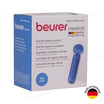 Ланцеты Beurer медицинские стерильные, 100 штук (4 упаковки по 25 штук)
