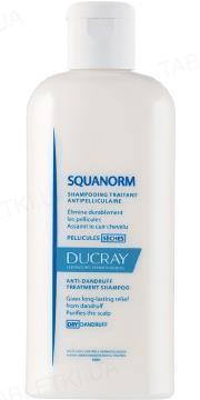 Шампунь Ducray Squanorm, против сухой перхоти, 200 мл