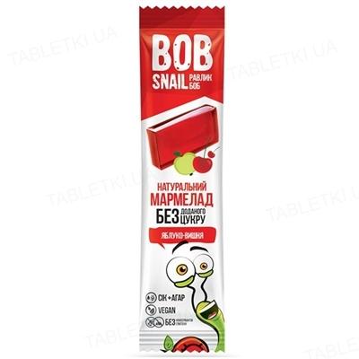Мармелад Bob Snail яблоко-вишня, 38 г