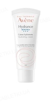 Крем Avene Hydrance Riche зволожуючий для сухої і дуже сухої шкіри, 40 мл
