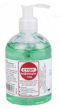 СТОПинфекция-100 гель д/рук антисептический по 1000 мл во флак.