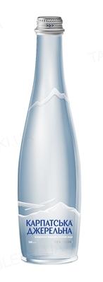 """Вода минеральная """"Карпатська Джерельна"""" негазированная, стеклянная бутылка, 0,5 л"""