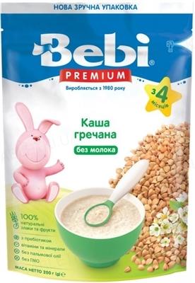 Суха безмолочна каша Bebi Premium Гречана, 200 г