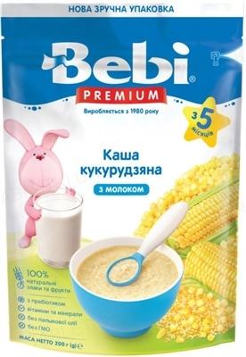 Суха молочна каша Bebi Premium Кукурудзяна, 200 г