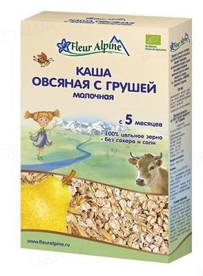 Сухая молочная каша Fleur Alpine Овсяная с грушей, 200 г