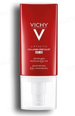 Крем-уход Vichy Liftactiv Collagen Specialist, антивозрастной, для коррекции морщин и контура лица  SPF 25, для всех типов кожи, 50 мл