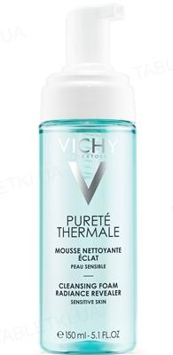 Пінка для обличчя Vichy Purete Thermale очищуюча, для всіх типів шкіри,навіть чутливої, 150 мл