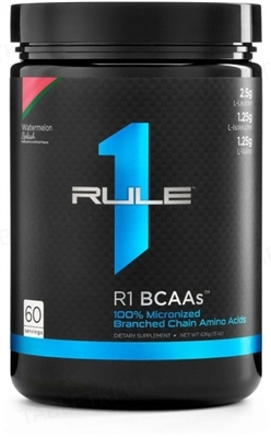 Аминокислота R1 (Rule One) BCAAs Watermelon Splash (арбуз), 432 г