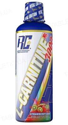 Жироспалювач Ronnie Coleman L-Carnitine-XS Liquid Strawberry Kiwi, 465 мл