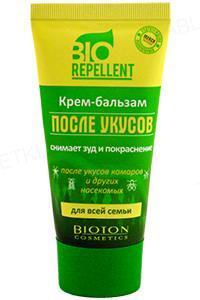 Крем-бальзам после укусов Bioton BioRepellent, 50 мл