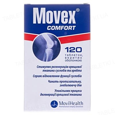Мовекс комфорт таблетки, п/о №120 (60х2) в бутыл.