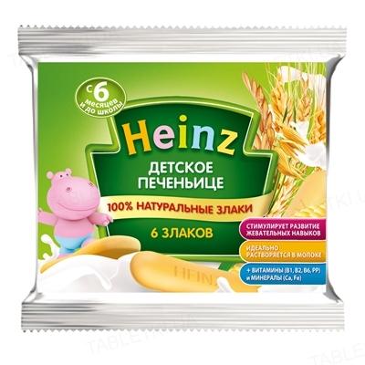 Печенье Heinz Детское печеньице 6 злаков, 60 г