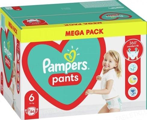 Подгузники-трусики детские Pampers Pants размер 6, 15+ кг, 84 штуки