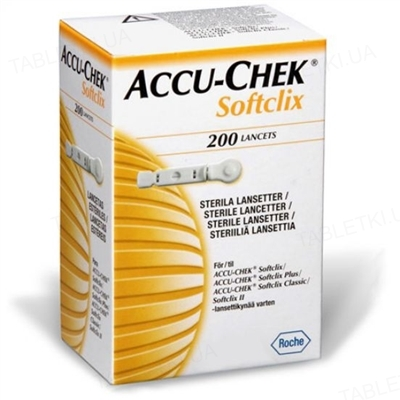 Ланцеты Accu-Chek Softclix, 200 штук