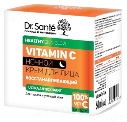Крем для лица Dr.Sante Vitamin C ночной восстанавливающий, 50 мл