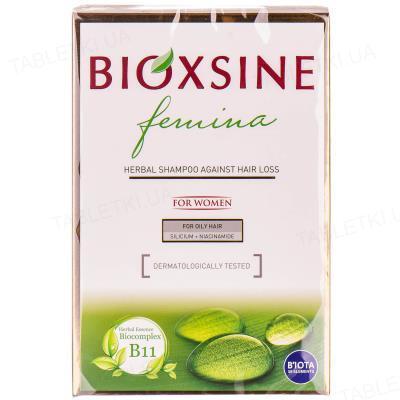 Шампунь Bioxsine Femina против выпадения для жирных волос, 300 мл