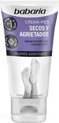 Крем для ног Babaria для сухой и склонной к трещинам кожи, 150 мл