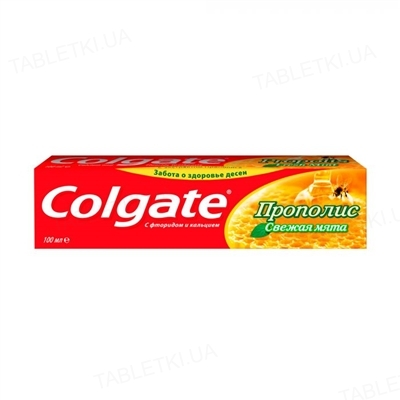 Зубная паста Colgate Прополис, Свежая мята, 100 мл
