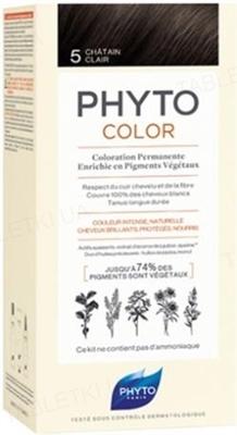 Крем-краска Phyto Phytocolor, тон 5 светлый шатен, 60 мл + 40 мл