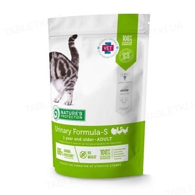 Корм сухой Nature's Protection Urinary Formula-S Adult диетический для котов, 400 г