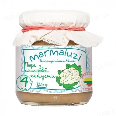 Пюре Marmaluzi из цветной капусты, 125 г