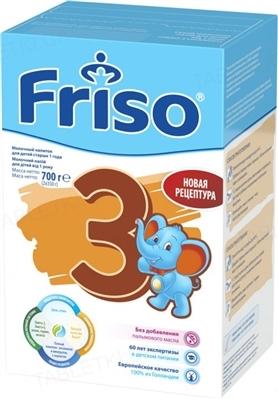 Сухой молочный напиток Friso 3 Junior от 1 до 3 лет, 700 г