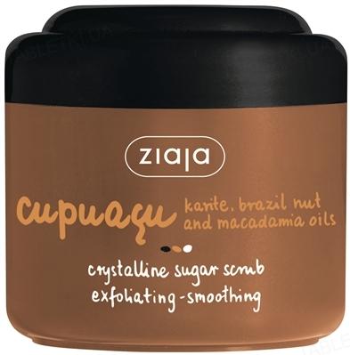 Скраб для душа Ziaja Купуасу кристаллический сахарный, 200 мл