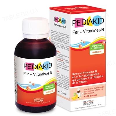 Педиакид PEDIAKID сироп Фер + витамины, 125 мл