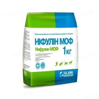 Нифулин МОФ (ДЛЯ ЖИВОТНЫХ) порошок для непродуктивных животных, 1 кг
