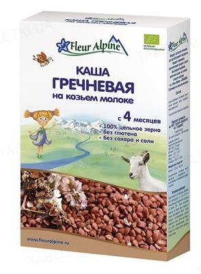 Сухая молочная каша Fleur Alpine Гречневая на козьем молоке, 200 г