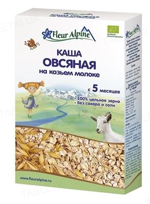 Сухая молочная каша Fleur Alpine Овсяная на козьем молоке, 200 г