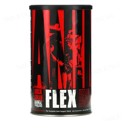 Вітаміни Universal Nutrition Animal Flex, 44 пакетика з таблетками